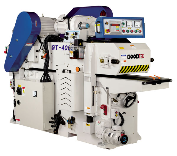 2 side planer is equipped with many different functions that can solve the problem of short material processing. We also design the operation mode for short or long workpiece.