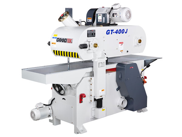 The Automatic single planer is our new model with high speed bevel spindle auto jointer. High speed means feed speed is 8 to 40m/min; bevel spindle is designed to be suitable for short workpiece processing that minimum length of cut is 100mm.