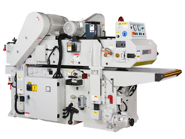 Double side planer with 635mm working width is specially designed for large workpiece processing.